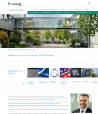 Fraunhofer Institute for Manufacturing Technology and Advanced Materials<br