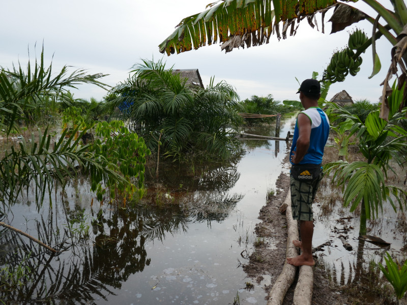 Land use change leads to increased flooding in Indonesia