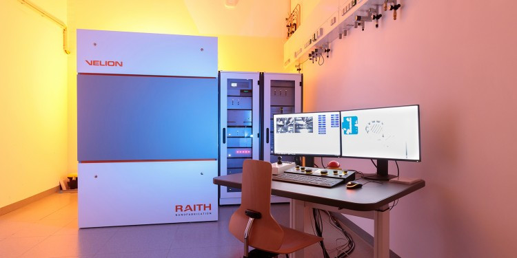 The new ion beam lithography system at the Center for Soft Nanoscience at Münste