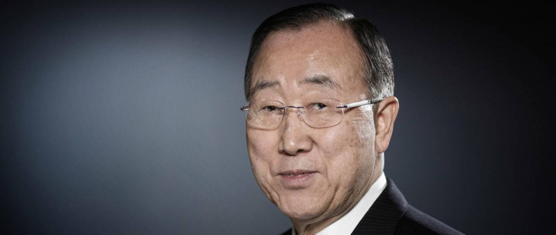 Ban Ki-moon, the eighth Secretary General of the United Nations    Image: The El