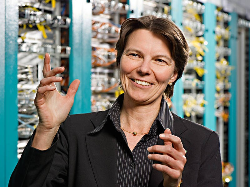Claudia Eckert is a  for IT security at the TUM and has now been appointed to a