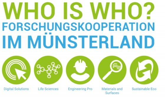 Who is Who - Forschungskooperation im Münsterland  		 © Enabling Innovation