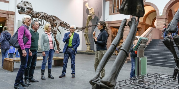 The Senckenberg museums stage many educational events as part of the 'Scie