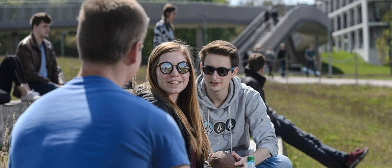 The students are very satisfied with the University of Würzburg - this is a resu