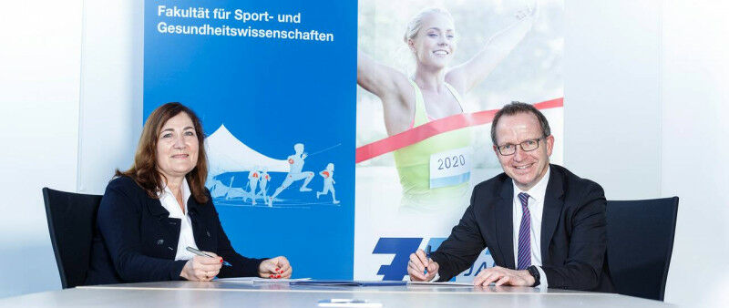Renate Oberhoffer-Fritz (Dean of the Department of Sport and Health Sciences at