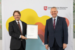 Lower Saxony's Science Prize 2020 in the 'Wissenschaftler' cat